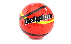 Voetbal met logo